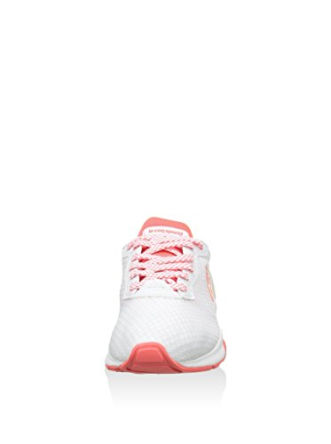 Le Coq Sportif, Donna, Lcs R XVI W Blurred Orange, Mesh, Sneakers, Bianco