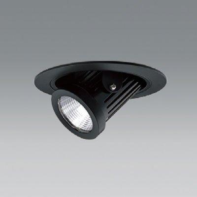 ユニティ LEDユニバーサルダウンライト ダウンスポットタイプ Φ100 3000K 12Vハロゲン50W形相当 狭角 ブラック UDL-1161NB-30 B07B7J2KFS