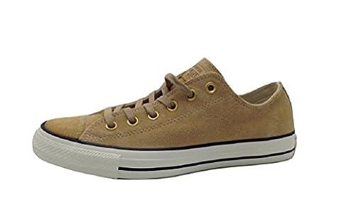 Converse Chuck Taylor All Star OX Light Fawn/Black/Egret (11 B(M) US Women / 9 D(M) US Men) - Fawn Footwear