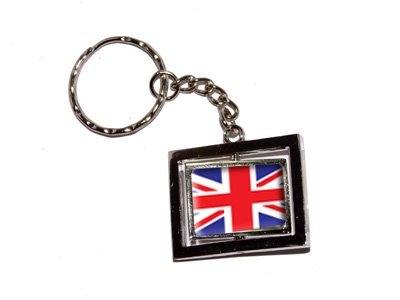 Britain British UK Flag - New Keychain Ring