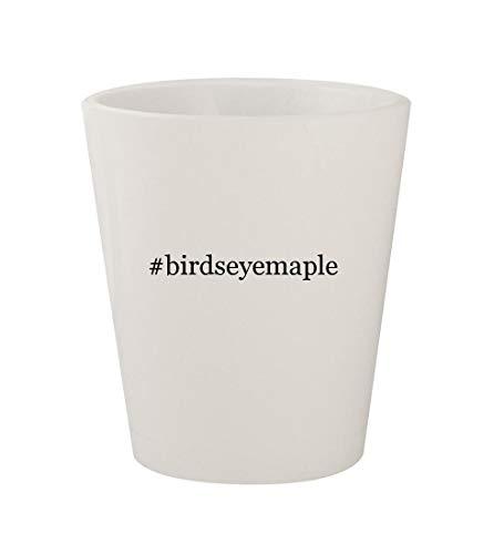 #birdseyemaple - Ceramic White Hashtag 1.5oz Shot Glass