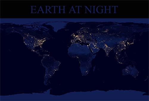 New Horizon Aviation, LLC Earth at Night Fine Art Print (Glossy Night Light)