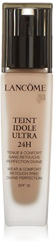 Lancome Teint Idole Ultra 24h Wear and Comfort SPF 15 010 Beige Porcelaine for Women, 1 Ounce (Lancome Teint Idole)