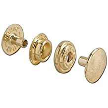 Tandy Leather Line 24 Snaps Brass Plated 10/pk 1263-01
