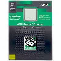 AMD Opteron 144 1.8GHz 1MB L2 Caja - Procesador (AMD Opteron, 1,8 GHz, Socket 939, 90 nm, 1000 MHz, 1 MB)