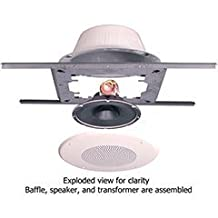"Quam SOLUTION 1 Complete 8"" Ceiling Speaker Package Pair 5W-25/70V"