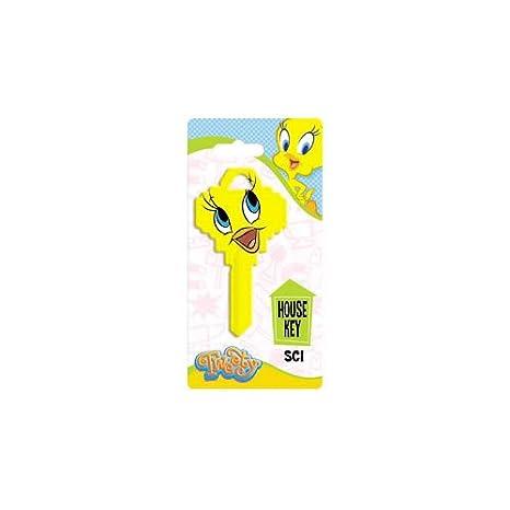 Hy-Ko Key Blank Themed Ez# Sc1 - Tw3 Tweety Face