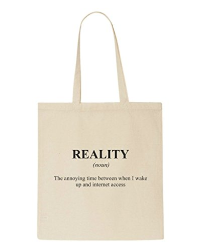 Alternative Bag Tote Shopper Definition Funny Dictionary Not The Internet Reality Natural In 1TtBqzw