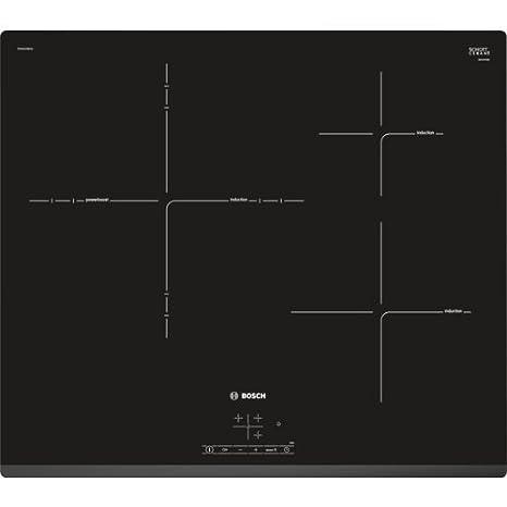 Bosch Serie 4 PID631BB1E Integrado Con - Placa (Integrado, Con placa de inducción, Vidrio y cerámica, Negro, LED, Tocar)