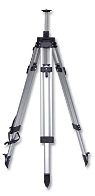 CST/berger 60-ALELT20 Value Line 5/8-Inch 11 Threaded Adjustable Height 60-Inch to 72-Inch Flat Head Tripod by CST/Berger