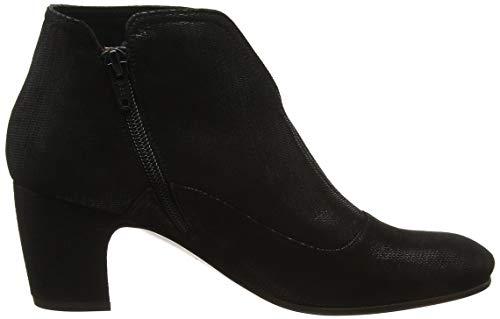 Chie Savoia Noir Negro Femme Bottines Black Mihara Seda33 4q61R4r