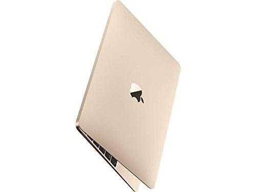 "Apple MacBook (2017) 12"" Laptop, Retina Display, Intel M3-7Y32 Dual-Core, 256GB PCI-E SSD, 8GB DDR3, 802.11ac, macOS 10.12, Gold (Renewed)"