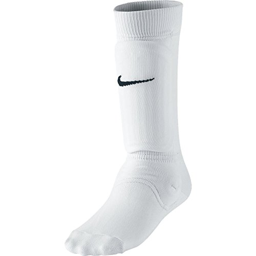 Nike Youth Soccer White Shin Sock III Socks