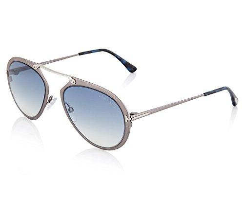 Sunglasses Tom Ford DASHEL TF 508 FT 12W shiny dark ruthenium / gradient - Dark Ruthenium