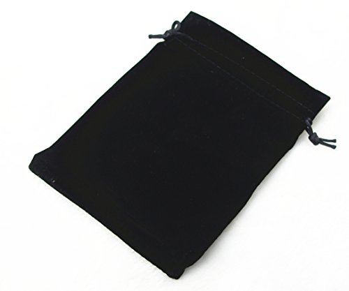 Pack of 25 Velvet Gift Bags Drawstring Jewelry Pouches Candy Bags Wedding Favors (6