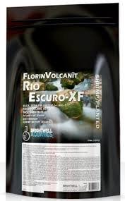 Brightwell Aquatics FlorinVolcanit Rio Escuro-XF Black 1mm FW shrimp biotope aquaria, 25 lb (Water Brightwell Black)