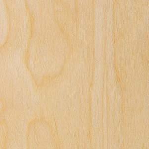 Wood Veneer, Birch, White Rotary, 2x8, PSA (White Birch Veneer)