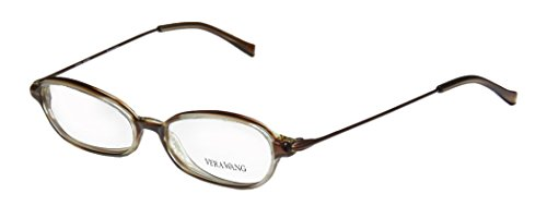 Vera Wang V21 Womens/Ladies Ophthalmic Hip & Chic Designer Full-rim Eyeglasses/Eye Glasses (47-14-130, - Hip Eyeglass Frames