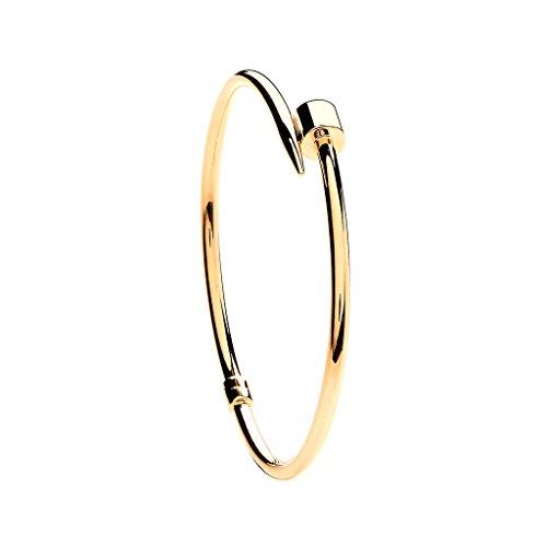 Vernis à ongles Or jaune 9carats à vis creuse bracelet