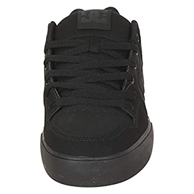 DC Shoes Men's Pure Black/Pirate Black Skateboarding Sneakers Shoes Sz: 7: Shoes