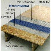 Permat Tile Underlayment by Blanke