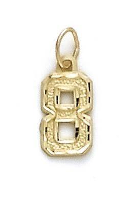 Petit Sport 14 Carats Pendentif JewelryWeb numéro 8
