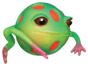 Frog Squeeze Toy (Toysmith Blob Frog Set)
