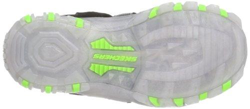 Skechers Street Lightz Sandal 90472L - Sandalias para unisex-adulto, color negro, talla 27 Negro (Schwarz (Bklm))