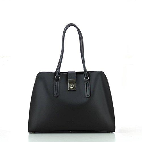 Furla Milano shopping bag black ONYX