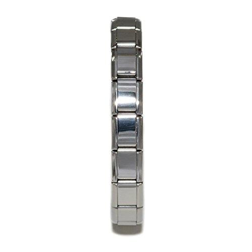 Dolceoro Shinny Starter Italian Charm 22 Links Modular Bracelet by Dolceoro (Image #1)