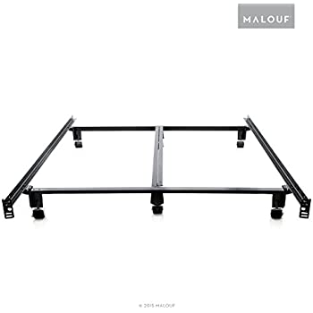 STRUCTURES STEELOCK Super Duty Steel Wedge Lock Metal Bed Frame - Queen
