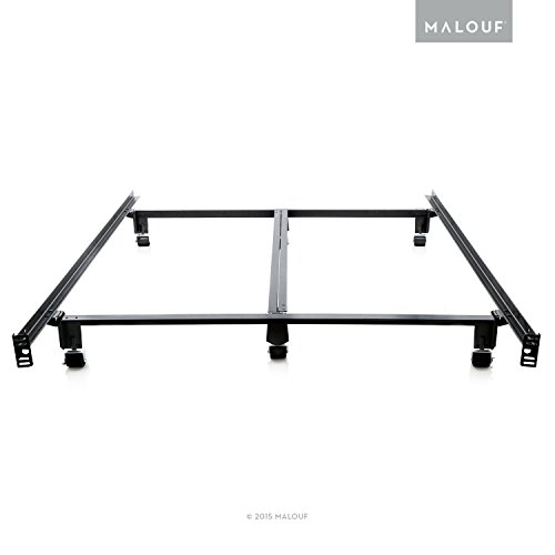 MALOUF STRUCTURES STEELOCK Super Duty Steel Wedge Lock Metal Bed Frame – Queen For Sale