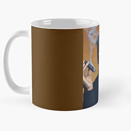 Jack Nicholson Paul Meijering American Actor One Flew Over The Cuckoos Nest C The Best Selling Tea Coffee Mug Ever