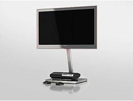 Sonorous TV y medios de comunicación función atril – negro y plata: Amazon.es: Electrónica