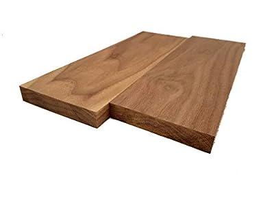 """Walnut Lumber - 3/4"""" x 4"""" x 12"""" (2 Pcs)"""