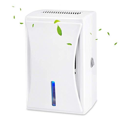 WUMINGLU Mini Home Air Dehumidifier,600ML Compact Portable Dehumidifier Low...
