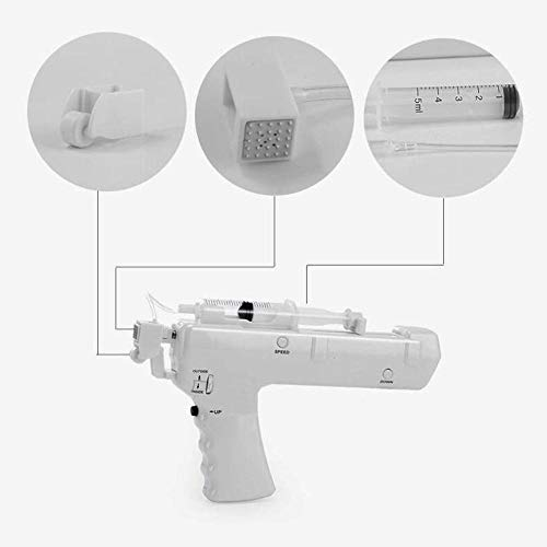 Skin Therapy & Treatment Needle-Free Mesotherapy Gun (Meso Gun) | Antiaging Argireline Hyaluronic Peptides