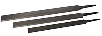 25 L/änge:200 mm PFERD Universal-Plus Feile Flachstumpf Feilen Werkstattfeilen 20 30 cm