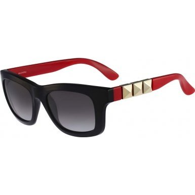 Valentino V691S-019 Ladies Black Red V691S - Sunglasses Valentino Womens