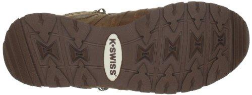 K-Swiss CLASSIC HIKER HIGH 02555-269-M - Botas de cuero nobuck para hombre Marrón
