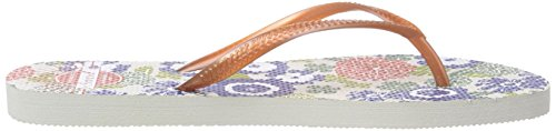 Levi's Tolay Print - Sandalias Mujer Naranja (79)