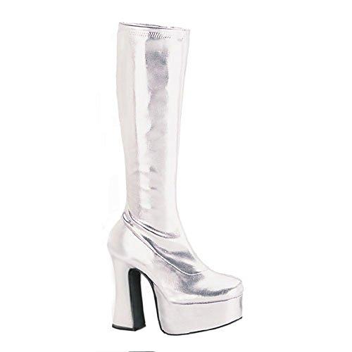 Heels-Perfect - Zapatos de vestir para mujer Plata plateado Plata - plateado