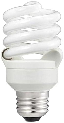 Energy Saving Natural - Philips 414045 60 Watt Equivalent Compact Fluorescent Twister Natural Light 5000K CFL Light Bulb, 6-pack