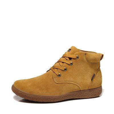 Shukun Herren Stiefel Herbst Pu Männer Atmungs Martin Stiefel Werkzeug Stiefel Outdoor Paar High-Top Frauen Schuhe Kurze Stiefel