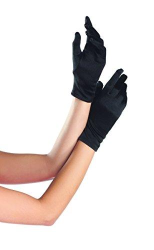 White Vinyl Gloves Costume (Polyester Gloves(WHITE,21CM))