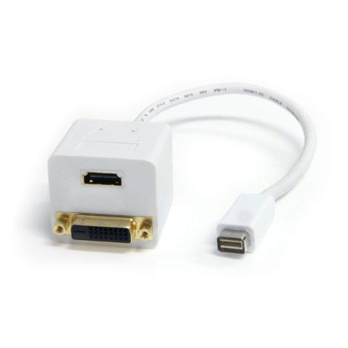 StarTech com MDVISPL1DH DVI D Splitter Cable