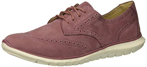 - Hush Puppies Women's Zula Tricia Oxford, Mauve Nubuck, 06.0 M US