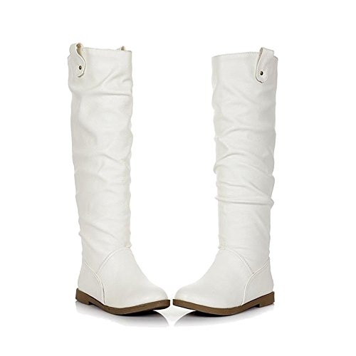 Princess Leia Shoes (Hot Movie SW Princess Leia Boots Movie Character Cosplay Cool Shoes for Sale D)