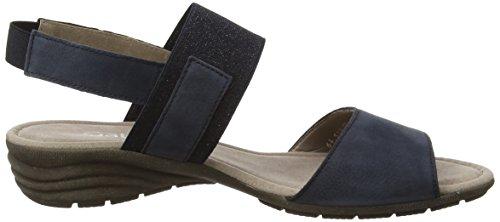 Gabor Shoes Fashion, Sandales Bout Ouvert Femme Bleu (Nightblue 16)