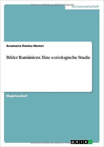 Book Bilder Rumäniens. Eine soziologische Studie (German Edition)